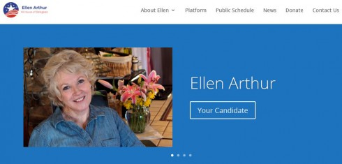 ellen arthur website